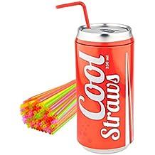 Balmes Vives M235374 - Dispensador pajitas Cool Straw Rojo