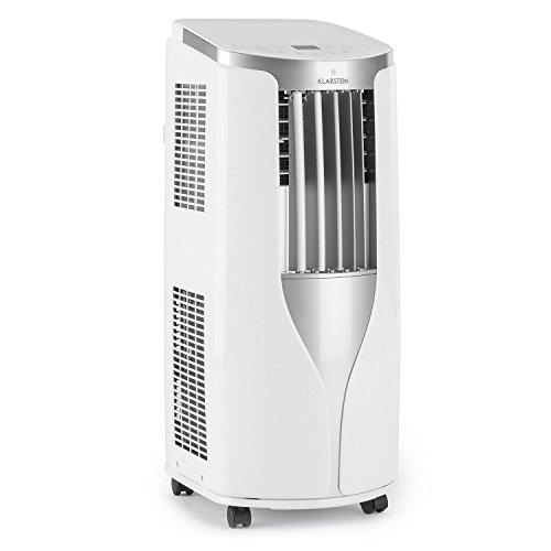 Klarstein New Breeze 9 • Klimaanlage • 9.000 BTU/2,6 kW Kühlleistung • Wunschtemperaturen: 16-30°C • 3 Betriebsmodi • Ventilator • Kühlung • Trocknung • Klasse A • Fernbedienung • weiß