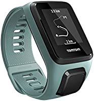 TomTom Spark 3 Multi Sport GPS Fitness Watch with Heart Rate Monitor, Small Strap - Aqua