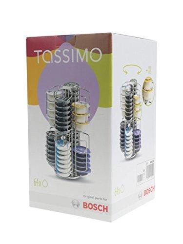 Tassimo - Distributeur de Capsules Rotatifs pour 64 T-discs