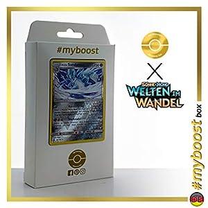 Alola-Sandamer (Sandslash de Alola) 138/236 Holo Reverse - #myboost X Sonne & Mond 12 Welten im Wandel - Box de 10 cartas Pokémon Alemán