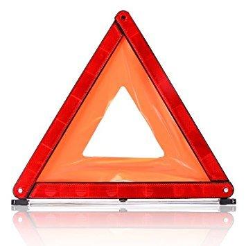 Rotes Warndreieck, faltbar, in Schachtel