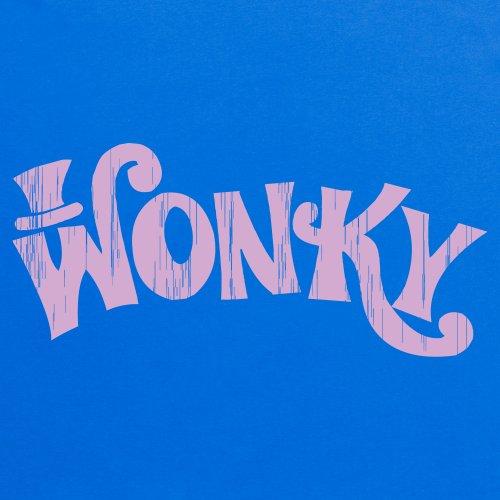 Wonky T-Shirt, Herren Royalblau