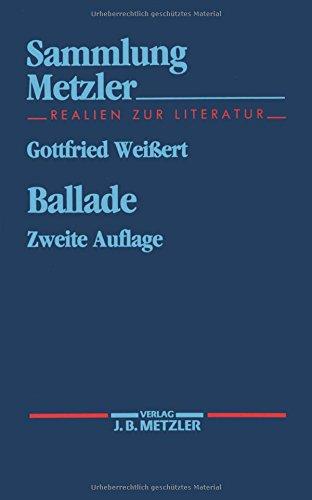 Ballade (Sammlung Metzler)