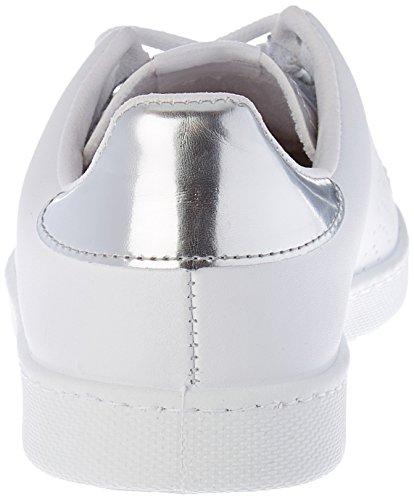 Vittoria Damen Sports Skin / Mirror Flach, Weiß Argent (argento)