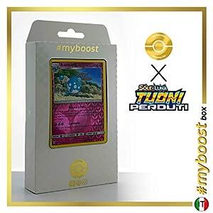 Azumarill 136/214 Holo Reverse - #myboost X Sole E Luna 8 Tuoni Perduti Box de 10 Cartas Pokémon Italiano
