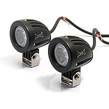 Faros Auxiliares De Gran Calidad Universales súper Brillantes 10w CREE LED Con Carcasa De Aluminio