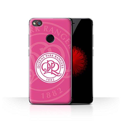 Offiziell Queens Park Rangers FC Hülle / Case für ZTE Nubia Z11 Mini / Heiß Rosa Muster / QPR Fußball Crest Kollektion