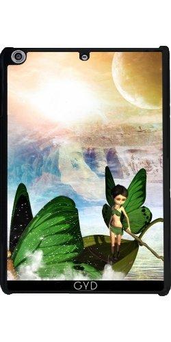 Hülle für Apple Ipad Mini Retina 2/3 - Fee Mit Schmetterlingen Boot by nicky2342