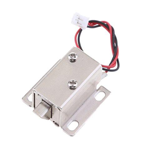 gazechimp Universal Mini Cerradura Magnética Eléctrica Para Puertas Puertas Gabinetes Armarios 12V...