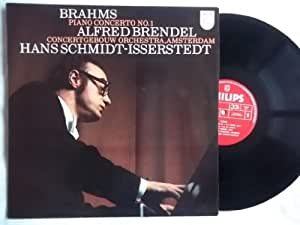 6500 623 ALFRED BRENDEL Brahms Piano Concerto 1 vinyl LP