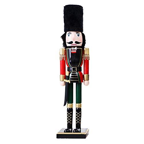 Holz Nussknacker 60CM, Handwerk Soldat Puppet, Sammlerstück Ornamente Puppen -