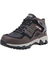 LARNMERN Sicherheitsschuhe Arbeitsschuhe Herren, LM-1702 Sicherheit Stahlkappe Stahlsohle Anti-Perforations Luftdurchlässige Schuhe