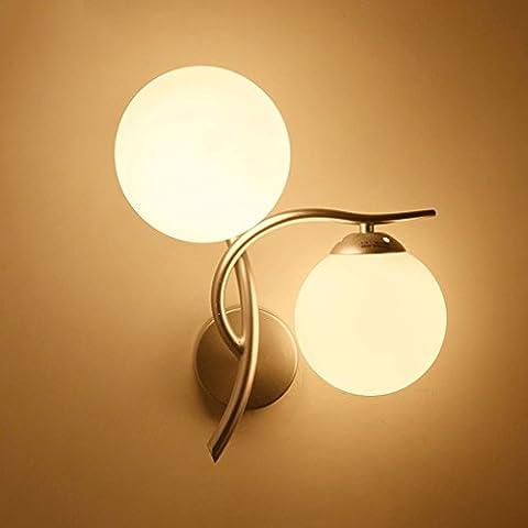 SLitteR Lighting LED-Wandleuchte Nachttischlampe kreative moderne minimalistische Schlafzimmer Balkon Aisle
