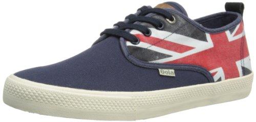 Gola Herren Falcon Nations Sneaker Low-Tops, Navy/Union Jack, 45 EU