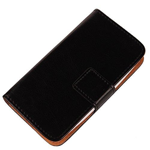 Gukas PU Leder Tasche Hülle Für Alcatel One Touch Pop Star 5070D 4G 5