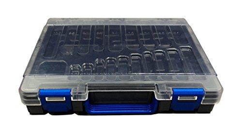ROSE Kunststoff-Koffer, leer, für 170 Bohrer, MIT Unterteilungs-Einsatz