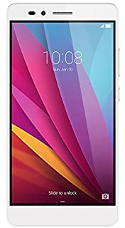 Honor 5X Smartphone (5,5 Zoll (14 cm) Touch-Display, 16 GB interner Speicher, Android 5.1) silber (B01ARHKIO8) | Amazon Products