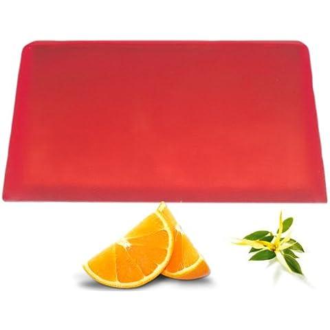 Ylang Ylang y naranja aromaterapia jabón Slice. Aprox. 115G, contiene: aceite esencial de Ylang Ylang & Naranja, hecho en Reino Unido.. Un regalo perfecto–gran para cumpleaños, Navidad......