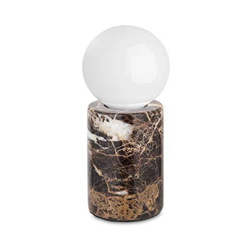 Geyang Round Shape Marble Coffe Table Lamp Daylight 6000K 5W 410LM E27 Base for Bedroom Living Room TD-10