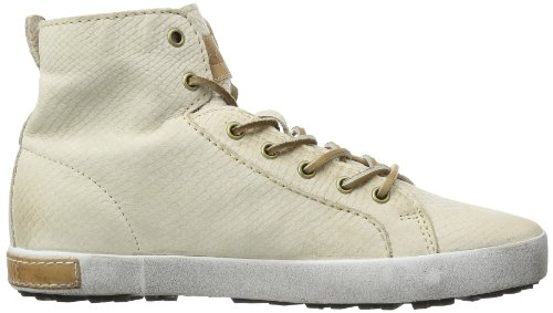 Blackstone NUBUCK HL81 Damen Sneaker Beige (Stone)