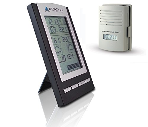 Aercus Instruments Weather Station Wireless Desktop WS1173 + Free Beginner's Guide
