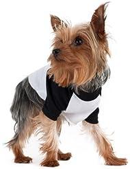 American Apparel Poly-Cotton 3/4 Sleeve Dog Raglan