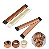 Hair Bun Accessories Hair Bun Maker Tool,3 PCS French Twist Hair Accessories Hair Clip for Buns,Fashion Bun Shapers Donut Bun Maker Hairstyle Toll for Women Girls