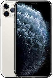 ابل ايفون 11 برو ماكس مع خاصية فيس تايم - 64 جيجا, 4 جيجا رام, الجيل الرابع ال تي اي, فضي، شريحة واحدة وشريحة