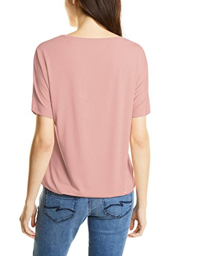 Street One Damen T-Shirt 311383 Gunja Rosa (Studio Rose 10978)