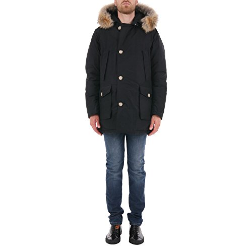 woolrich-homme-wocps1674cn01nbl-noir-coton-blouson