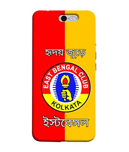 Print Vale East Bengal Club Kolkata Image Designer Printed Polycarbonate Matte Finish Hard Back Case Cover for InFocus M812
