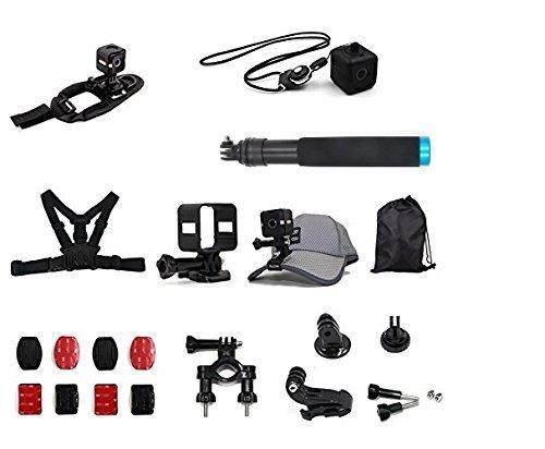Telesin-alles in einem-Halter-Zubehör-Ausstattung für Polaroid Cube- und Polaroid Cube+-Lifestyle Action Kamera