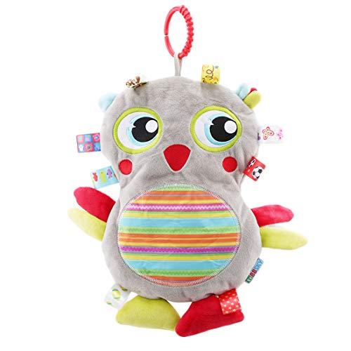 VWH Cartoon Vogel Plüschtiere Gefüllte Spielzeug Quietschende Spielzeug für Kid (Bettwäsche Sets Grau Tröster)