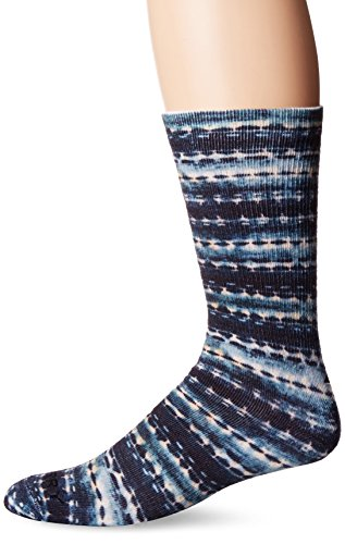 Sperry Top-Sider Men's Printed Performance Crew Socks Navy