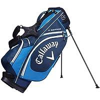 Callaway X SERI Stand Bolsa para Palos de Golf, Hombre, Azul Oscuro/Blanco, Talla Única