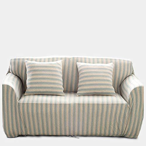 Sqinaa cotone,fodera per divano a righe protettore di animali domestici bambini divano letto cuscino per 1 pezzo morbido divano copre-c
