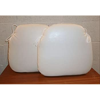 faux leather chair pads cushions. zippy (twin pack) faux leather dining chair cushion - spindle seat pad small cream pads cushions o