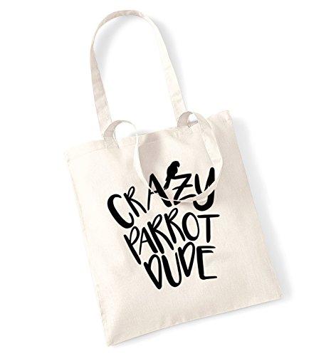 crazy-parrot-dude-tote-bag