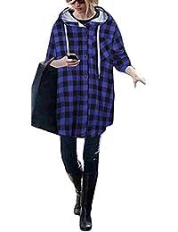 damen kleid kariert karo jacke rot mantel