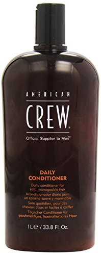 Men Daily Conditioner (For Soft, Manageable Hair), 1000ml/33.8oz