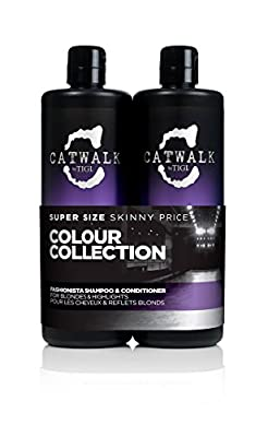 CATWALK by TIGI Fashionista Violet Tween Duo Shampoo and Conditioner for Blonde Coloured Hair 2x750 ml from TIGI