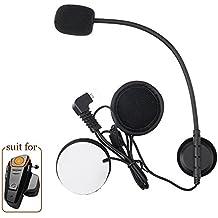anancooler BT-S21000M Bluetooth Headset impermeable BT moto moto casco intercomunicador Interphone móvil, Walkie Talkie GPS Manos libres Mp3Player FM Radio para 2o 3jinetes