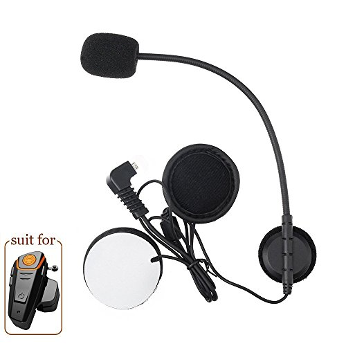 Anancooler bt-s21000m auricolare Bluetooth impermeabile BT casco da moto Interphone Headset, walkie talkie GPS mani libere MP3player FM radio per 2o 3Riders