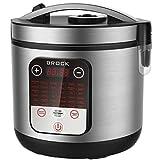 Brock Electronics MC-3601 Robot de cocina multifuncion, 700 W, 5 litros, 5 Decibeles, Acero Inoxidable, 36 Velocidades, Plateado