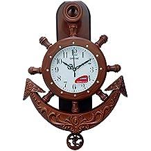 Ajanta Oreva Plastic Wall Clock (30.5 cm x 7.5 cm x 42.3 cm)