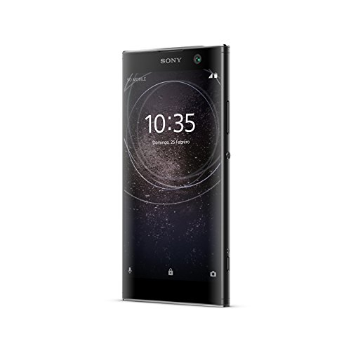 "Sony Xperia XA2 DS - Smartphone de 5.2"" (Octa Core 2.2 GHz, RAM de 3 GB, memoria interna de 32 GB, cámara de 23 MP, Android) Dual-Sim, color negro  [Exclusivo Amazon]"