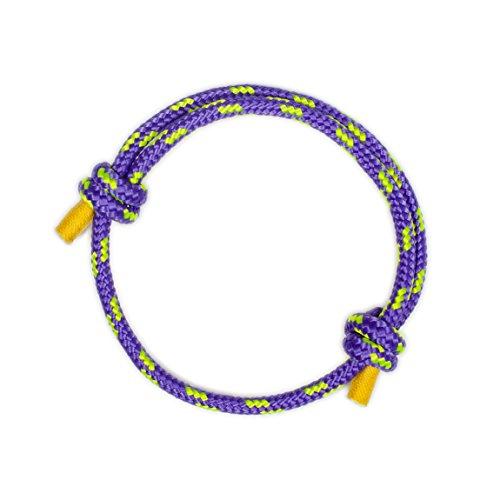 Wind Passion Höchste Qualität Lila Nautic Geflochtene Armband Damen Geschenk