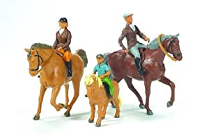 Britains 40956 - Statuina, Cavalli e persone, scala 1:32