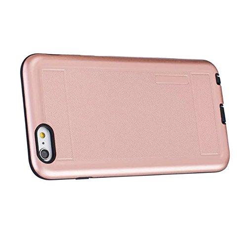 JIALUN-étui pour téléphone Housse de téléphone à couverture murale anti-chocs pour Apple IPhone 6S Plus 5.5 pouces ( Color : Gold ) Rose